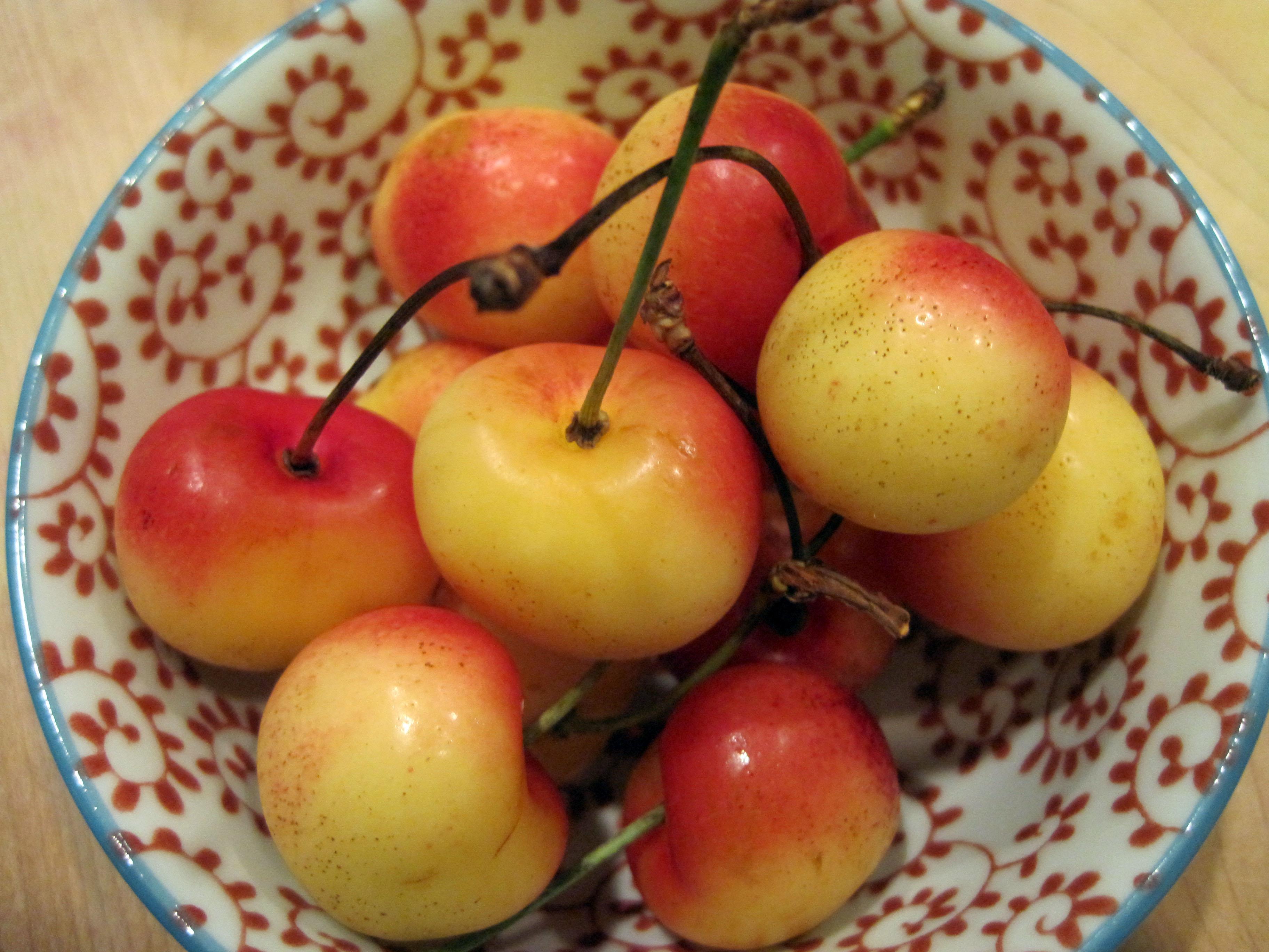 Rummy Rainier Cherries